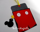 CONVITE MICKEY - ENVELOPE