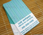 Calling Cards Kids- Blue Stripes