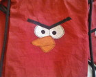 MOCHILA ANGRY BIRDS RED