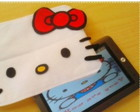 "Case ""Hello Kitty"" Para Tablet - Ipad"
