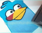 Case Angry Birds Azul para Ipad / Tablet