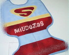 "Babador ""SuperBoy"" Para pequenos her�is!"