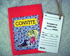 CONVITES SCRAPBOOK - POLLY