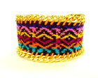 50% off Pulseira Bordada Tribal
