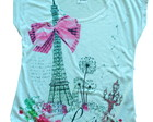 Blusa Estampa Paris