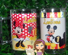 Caneca Mickey e Minnie 430ml