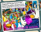 Convite virtual Club Penguin digital