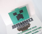 20 convites Minecraft pop up