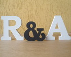 Letras Decorativas com &