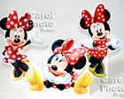 Totens de 25cm da minnie com base