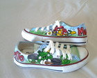 ALL STAR PERSONALIZADO ANGRY BIRDS