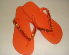 SANDALIA HAVAIANA TOP LARANJA INDIA