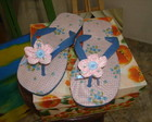 Chinelo forrado