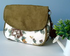 Mini Bag Floral Caramelo