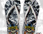 Chinelo Customizado Guns 'n Roses