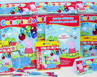 Kit colorir Peppa Pig/l�pis/giz/massinh