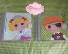 Porta Cd/DVD Gel Lalaloopsy 01
