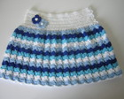 Saia Infantil Summer Blue