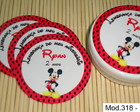 R�tulo Latinha Mint to be Mickey