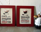 Mod1.kit 2 Quadros Café - Red