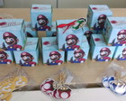 20 CX PERSON MARIO BROS + TAGS + TOPPERS