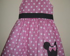 VESTIDO MINNIE ROSA COM AL�AS