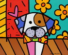 2. QUADRO POP ART - MY DOG - (45 X 45)