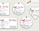 Kit Tags - Etiquetas Design! mod51