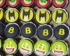 Cup Cakes Decorados Batman