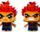 Paper Toy 3D Akuma Street Fighter