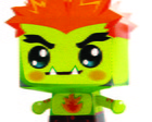 Paper Toy 3D Blanka Street Fighter