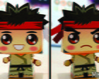 Paper Toy 3D Ryu Street Fighter