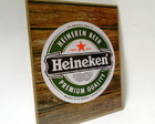 Placa Decorativa Heineken