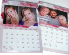 Calendrio de parede personalizado