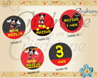 Plaquinhas/ toppers mickey