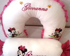KIT ALMOFADAS BORDADAS MINNIE BABY