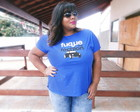 T-shirt Plus Size Fuque the Fashion