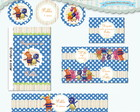 Kit Festa Infantil Backyardigans (arte)