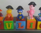 Cubos Backyardigans piratas - Biscuit