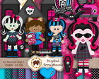 Kit Scrap Digital - Monster High
