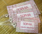 Kit 3 Bagtags - Patchwork