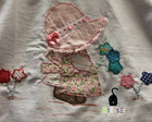 Camiseta com Patchaplique Sunbonnet Sue