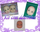 Kit com dentinhos(MAC 03,04,24)