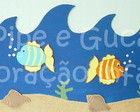 (BD 0008) Border fundo do mar