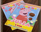 Revista de colorir Peppa Pig
