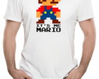 Camiseta masculina Mario it's Me