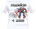 Camiseta Transformers - Optimus Prime
