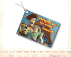Tag Personalizado - Toy Story
