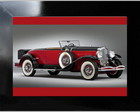 **QUADRO DECORATIVO - THE CAR RED
