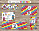 Kit Festa Digital Pocoyo Libcores
